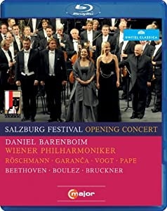 2010 Salzburg Festival Opening Concert Blu-ray 2011region Free by C Major
