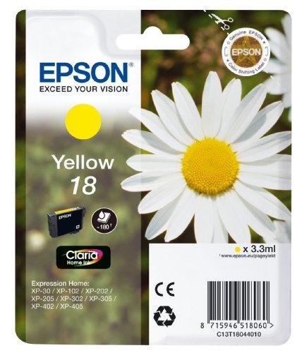Epson XP30/ 102/ 202/ 302/ 405 Ink Cartridge - Yellow