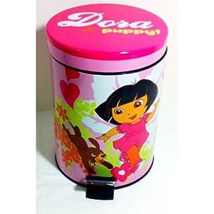 Dora the Explorer I Love My Pup Wastebasket