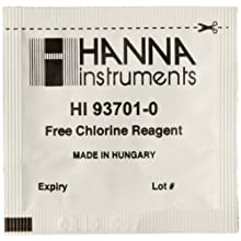 Hanna Instruments HI 93701-01 Reagents for Free Chlorine and DPD Method (100 Test)
