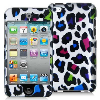 MyBat Apple iPod Touch 4G Phone Protector Cover - Colorful Leopard