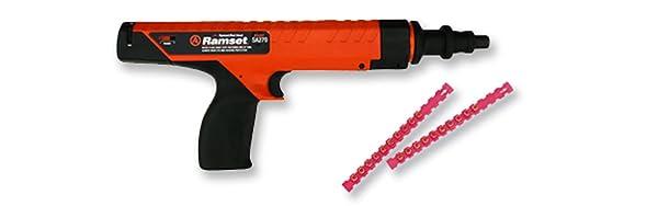 Powder Actuated Gun, Semi Auto, 27 Caliber