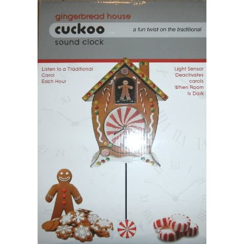 Amazon.com - Mark Feldstein & Associates, Inc Holiday Cuckoo Clock