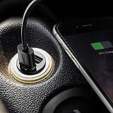 AUKEY-Kfz-Ladegert-48A-Duale-Ausgnge-fr-iPhone-6-iPhone-6s-6-plus-Samsung-Galaxy-6S-Google-Nexus-und-andere-Schwarz
