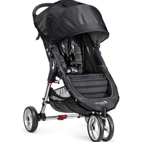 Baby-Jogger-City-Mini-Stroller-In-Black-Gray-Frame