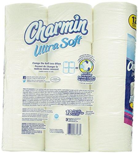 Charmin Ultra Soft Mega Rolls - 12=48