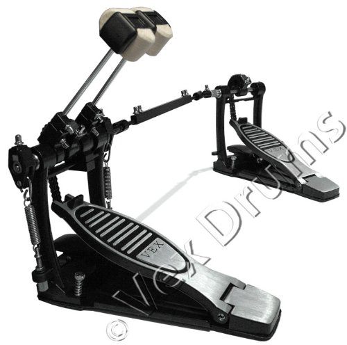 Lefty Vex Pro Touring Double Bass Drum Pedal
