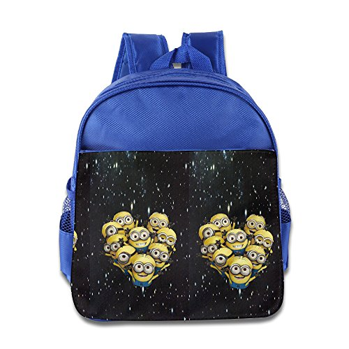 Boys-Girls-Toddler-Heart-Of-Minions-Backpack-School-Bag