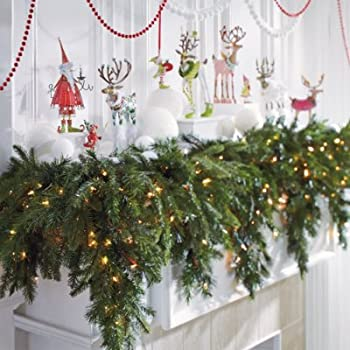 Christmas Garland For Mantle My Choice Finds