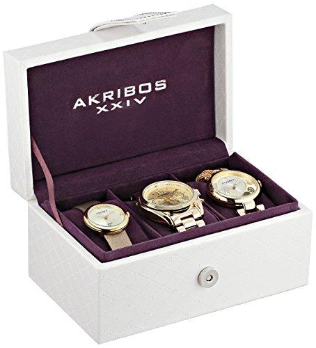 akribos-xxiv-womens-swiss-quartz-watch-set-with-analogue-display