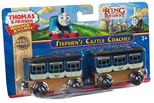 Fisher-Price Thomas the Train Wooden Railway Stephen's Coaches