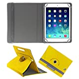ACM ROTATING 360° LEATHER FLIP CASE FOR APPLE IPAD MINI 2 TABLET STAND COVER HOLDER YELLOW