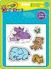 Comprar Crayola 12599 - Pegatinas Gigantes De Animales
