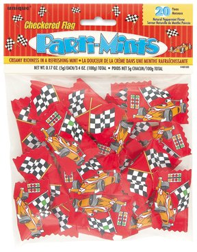 Checkered Flag Party Mints