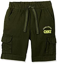Cherokee Boys' Shorts (267914485_Olive_3 - 4 years)