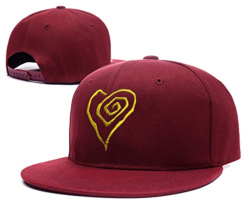 Jeffrey Marilyn Manson Heart Logo Adjustable Snapback Embroidery Hats Caps