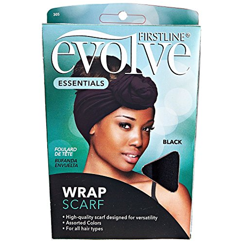 Evolve Wrap Scarf, Black (Head Bun compare prices)