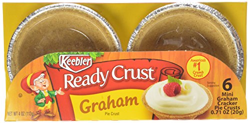 Keebler - Ready Crust - Mini Graham Cracker Crusts - 6 Ct - 4 Oz (Pack of 6) (Ready Mini Pie Shells compare prices)