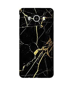 Black And Gold Samsung Galaxy J7 Case