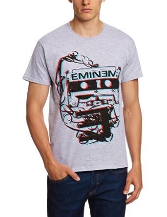 Bravado T-shirt Imprimé musique et film Homme - Gris - Gris - FR : Small