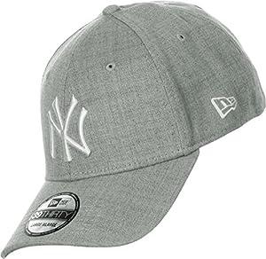New Era 39thirty League NY Yankees Cap S/M gray/white