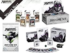 Magic: the Gathering: 2015 Core Set / M15 - Variety Pack (1 Booster Box, 1 Fat Pack, Set of 5 Intro Packs)