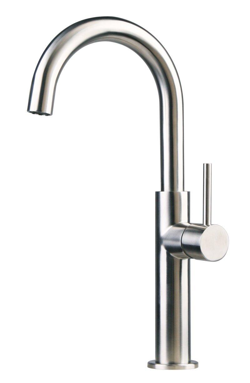 Edelstahl Küche / Bad / Spültisch / Waschtische Armatur gebürstet matt 62a   Kundenbewertung und weitere Informationen