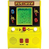 Pac Man Mini Arcade Game - Play On The Go With Classic Joystick And Sounds!