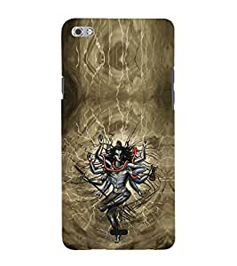 iFasho Siva tandab dance Back Case Cover for Micromax Canvas Sliver 5 Q450