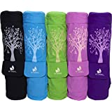 Fit Spirit® Tree of Life Exercise Yoga Mat Bag w/ 2 Cargo Pockets - Choose Your Color