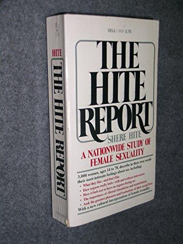 Hite report masturbation opinion