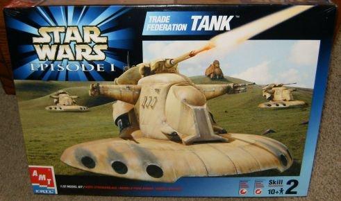 Star Wars Trade Federation Tank Model Kit