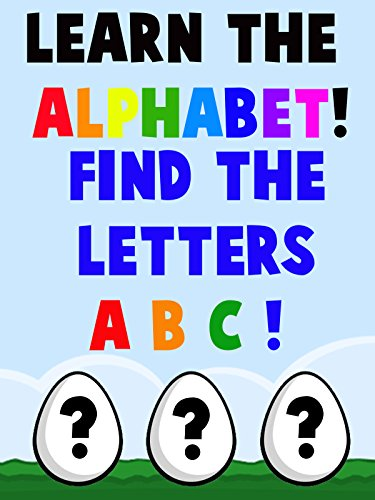 Learn the Alphabet! Find the Letters A, B and C on Amazon Prime Instant Video UK