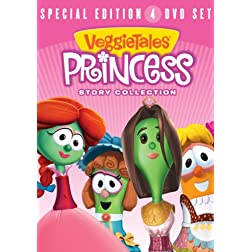 Veggie Tales-Princess Story Collection 4pk