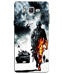 EU4IA MULTICOLOR MATTE FINISH 3D MATTE FINISH Back Cover Case For GALAXY J3 (...