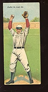 Buy 1911 T201 Mecca Double Folder Baseball Card Lake Wallace St. Louis Browns by Hollywood Collectibles