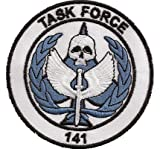COD Call of Duty Modern Warfare PS3 TASK Force Elite BlackOps Iron on Patch Badge Insignia