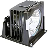 Replacement Video TV 915P026010 Projector Lamp Bulb Mount Module 915P026010 915P026A10 Compatible For Mitsubishi WD-52627 WD-52628 WD-62627 WD-62628 TV S