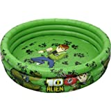 Simba Ben10 Inflatable Baby 3-Ring Pool, Multi Color (39-inch)