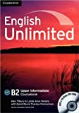 img - for English Unlimited Upper Intermediate Coursebook with e-Portfolio book / textbook / text book