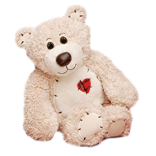 First & Main Sitting Position Stuffed Teddy Bear Valentine's Plush, 8""