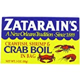 ZATARAIN'S Crawfish, Crab and Shrimp Boil, Dry, 3-Ounce (Pack of 12)