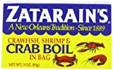 ZATARAINS Crawfish, Crab and Shrimp Boil, Dry, 3-Ounce (Pack of 12)