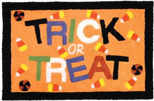 Jellybean Trick or Treat Accent Area Rug