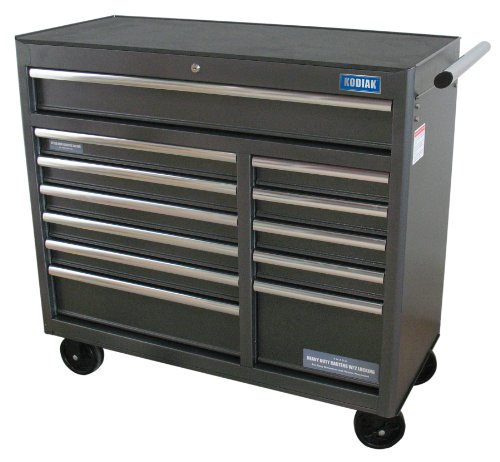 Images for Kodiak Pro Elite 74412 41-Inch 12 Drawer Rolling Tool Cabinet