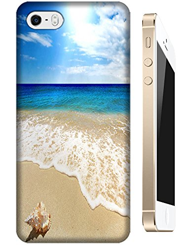 Cell Phone Case Beach Design Beautiful Sunshine Water Trees For Iphone 5/5S No.3 front-1049095
