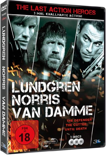 The Last Action Heroes: Lundgren / Norris / Van Damme [3 DVDs]