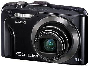 CASIO デジタルカメラ EXILIM EXH20G 1410万画素 光学10倍ズーム EX-H20GBK ブラック