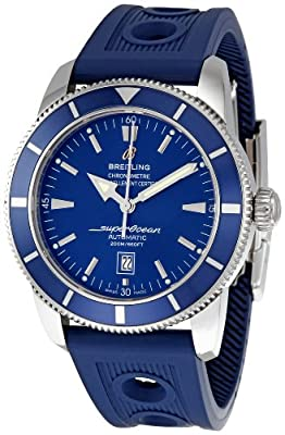 Breitling Men's A1732016/C734 Superocean Heritage Blue Dial Watch