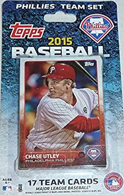 2015 Topps Philadelphia Phillies Factory Sealed Special Edition 17 Card Team Set with Ryan Howard Chase Utley Plus